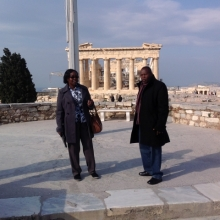 Prof. Micheni Japhet Ntiba and Mrs. Susan Imende visited Acropolis